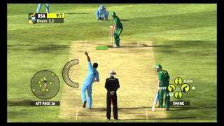 ASHES 2009 BOWLING GAMEPLAY PC- (PART 1)