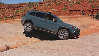 Hammering the Anvil: 2014 Trailhawk (KL) on Klondike Bluffs & Fins 'N Things