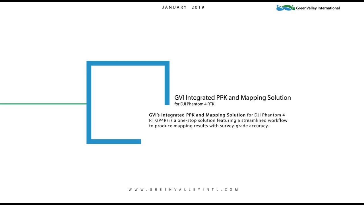 LiPPK + LiMapper for P4R - GreenValley International