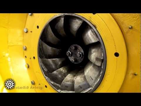 Testing 80 Kw Francis turbine!