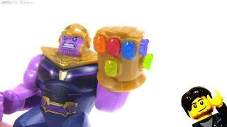 LEGO Marvel Avengers Infinity Gauntlet complete!  All infinity stones / gems