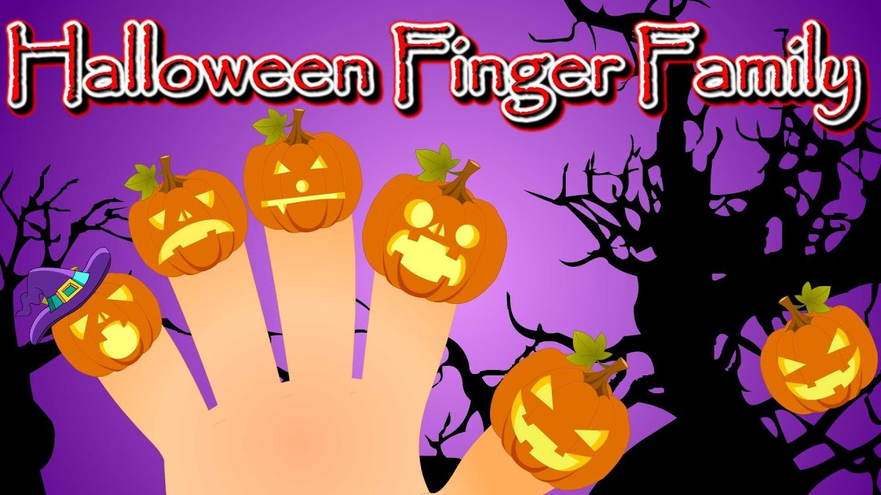 Halloween Pumpkin Finger Family | Halloween English Nursery Rhymes for Children