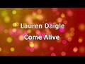 Come Alive  Dry Bones  - Lauren Daigle  Lyrics  Hd