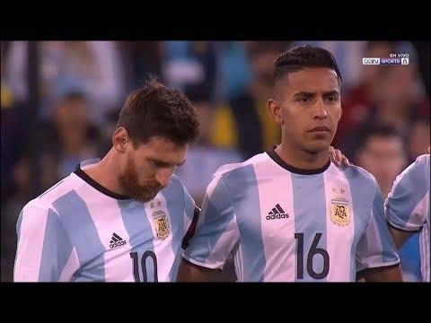José Luis Gómez vs Brasil  Debut en la Selección Argentina   09062017