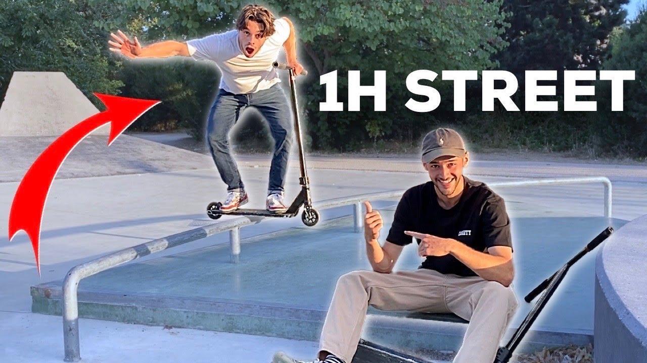 "1H POUR APPRENDRE 5 TRICKS ""STREET"" !"