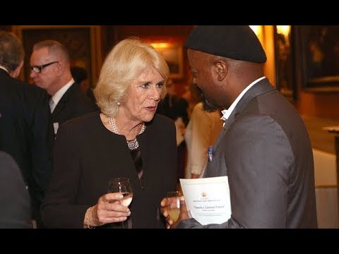 Duchess of Cornwall hosts a reception at Buckingham Palace