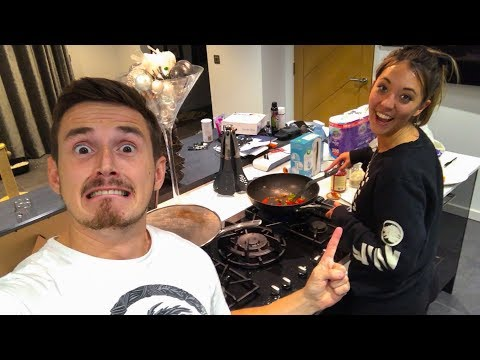 Cooking with the Wife!
