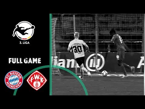 FC Bayern Munich II Vs. Würzburger Kickers 1-1 | Full Game | 3rd Division 2019/20 | Matchday 20