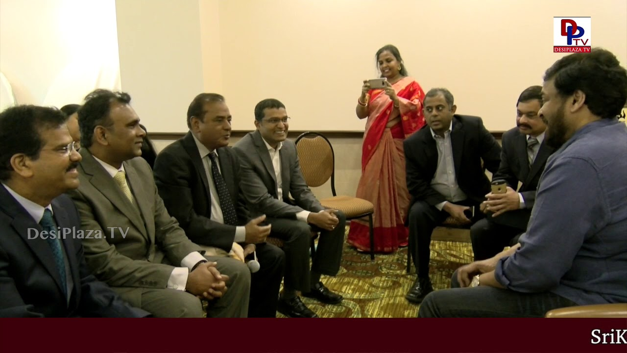 MegaStar Chiranjeevi special interaction with doctors and their services in USA | DesiplazaTV