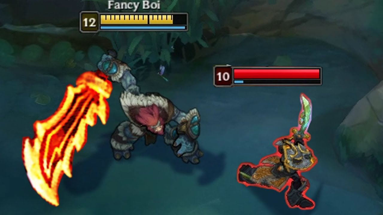 Rageblade Trundle Insane Damage League Of Legends