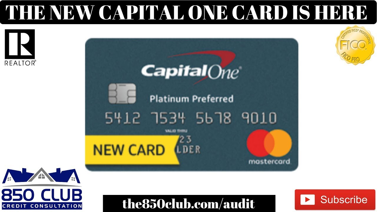 Capital one platinum credit card sign up