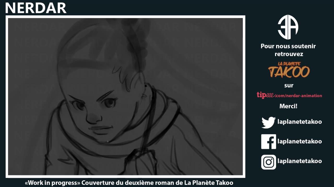 Création de la prochaine couverture de la planete Takoo