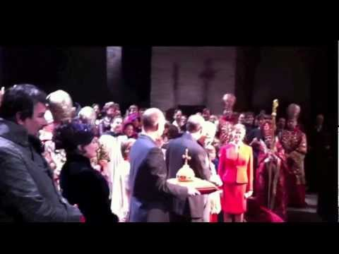 Tribute To Paul Plishka * Farewell To The Metropolitan Opera / Jan 28 2012 HD 1080p