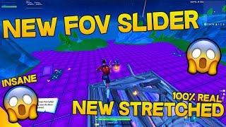 How to get a CUSTOM FOV in FORTNITE! (THE NEW STRETCHED!)