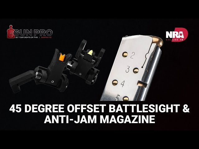 45 Degree Offset BattleSight and Anti-Jam Magazine - Gun Pro