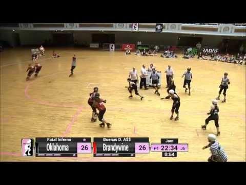 Game 10: Oklahoma Victory Dolls v Brandywine Roller Girls
