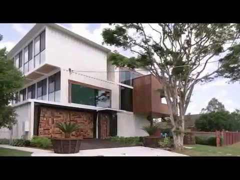 Amazing House Design Ideas - This House Created from 31 Shipping Containers in Australia
