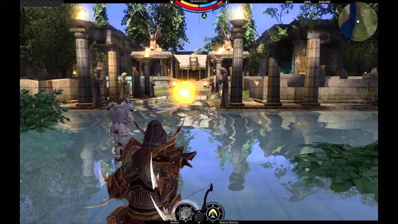Darkfall Unholy Wars Short Gameplay Video Hd Youtube