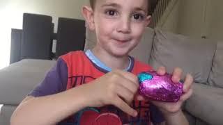 Huge Surprise egg | 4 Yowie surprise eggs | colour learning | toy 'n joy