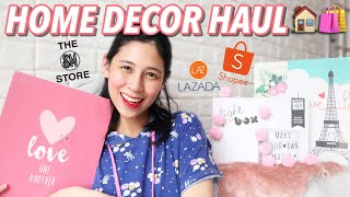 Home Decor Haul (shopee, Lazada, Sm Store)