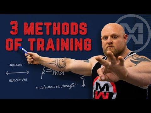 The 3 Methods of Strength Training You Need to Know!