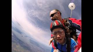 Jiaying Zhang's Tandem skydive!