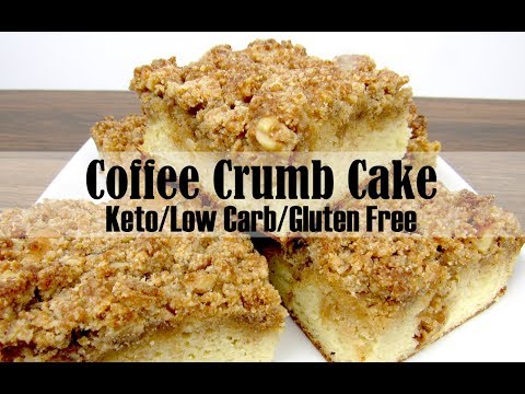 Coffee Crumb Cake Keto, Low Carb & Gluten Free