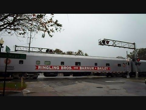 Ringling Bros And Barnum & Bailey Circus Train