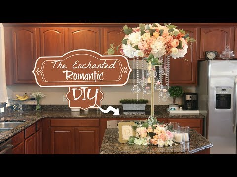 DIY Tall Enchanted Romantic Wedding Centerpiece| 3 FEET TALL!