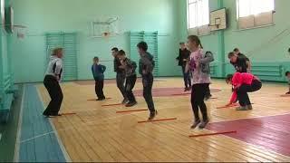 Урок физкультуры 4 класс