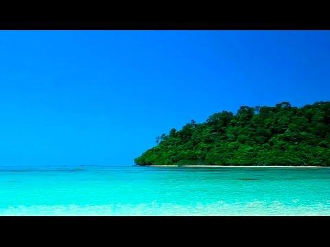Música Relaxante e Suave Som das Ondas do Mar - Praia Paradisíaca HD