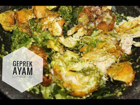 resep-praktis-geprek-ayam-lombok-ijo-enak-dan-lezat