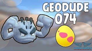 Alolan Geodude hatched - Generation 7 Pokedex 074 - Pokemon GO [No Hack]