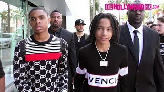 YBN Nahmir & YBN Almighty Jay React To XXXTentacion's Passing While Shopping On Rodeo Drive