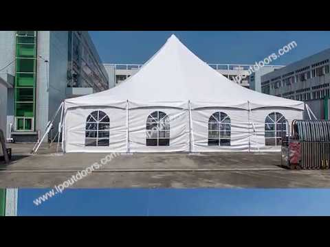 12m 40' wedding  party  marquee pole tent for installation
