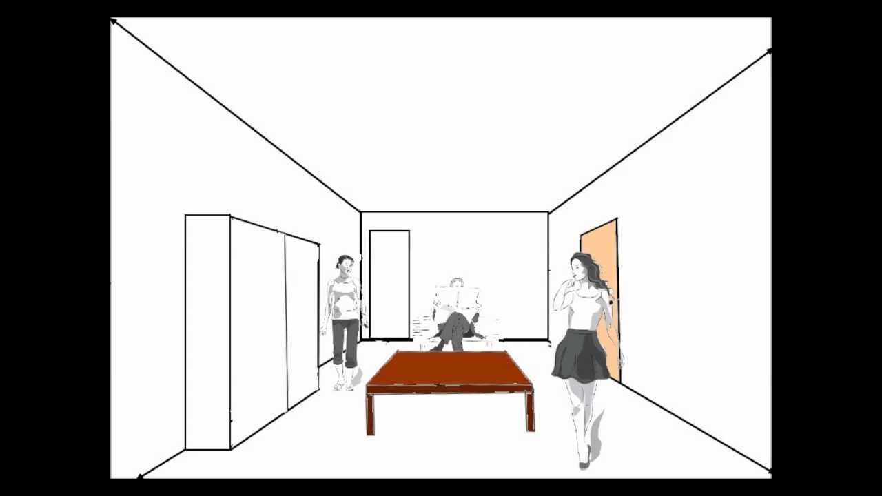 Vidéo Construire Une Perspective Centrale Youtube