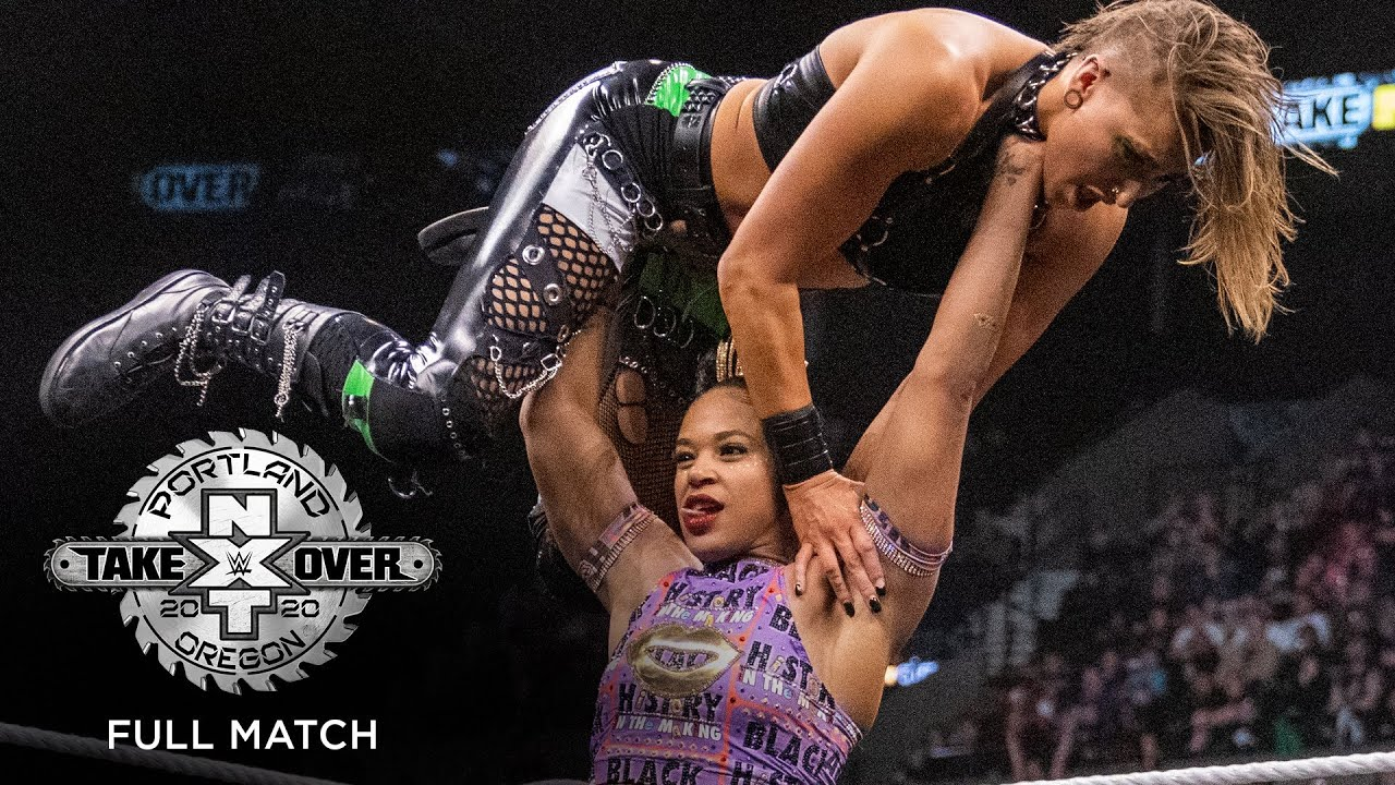 FULL MATCH - Rhea Ripley vs. Bianca Belair – NXT Women's Championship Match: NXT TakeOver: Portland