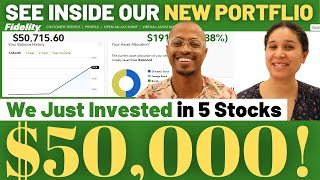 We Just Invested $50,000 In These 5 Stocks - See Inside Our Individual Stock Portfolio