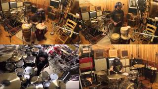 Mike Portnoy Drum Cam - Metal Allegiance - Let Darkness Fall