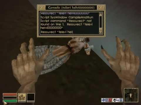 The Elder Scrolls: <b>Morrowind</b> Basic Console Commands Tutorial - YouTube