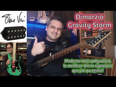 TEST : micro Dimarzio signature Steve Vai Gravity Storm