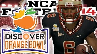 NCAA Football 14 Dynasty Mode: Florida State Seminoles vs LSU Tigers | Orange Bowl