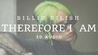 Billie eilish - therefore i am (3d ...