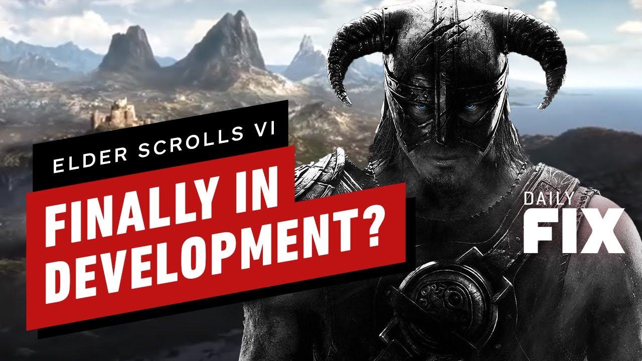 Elder Scrolls VI puede haber comenzado la producción - IGN Daily Fix + vídeo