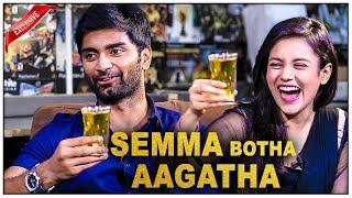 Semma Botha Aagathaa Making : Atharva | Mishti | Yuvan Shankar Raja | Badri Venkatesh