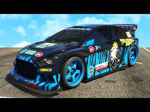 KEN BLOCK RALLY AUTO! - Grand Theft Auto 5 (GTA 5 DLC)
