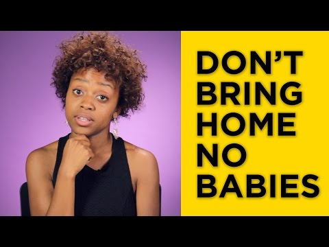 Babysitter - Happy Mother's Day Weekend | 24 THINGS BLACK MOMS SAY