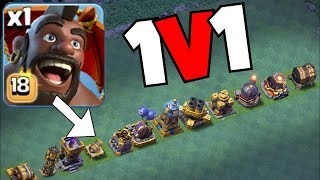 "HOG GLIDAAA! vs. ALL WEAPONS!! 😀""Clash Of Clans"" BH9 Update!"