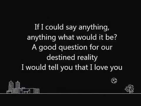 Tristan Prettyman- Say Anything (With Lyrics)