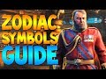 Easy Dead of the Night Zodiac Symbols Step Guide! (All Symbol/Scratch Mark Locations)